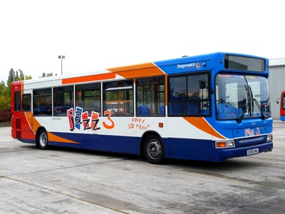From Tuesday 21 April 2015, fares on the 823 from Bankfoot go up