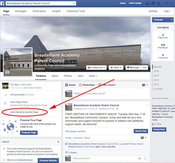 Facebook page invite 2a