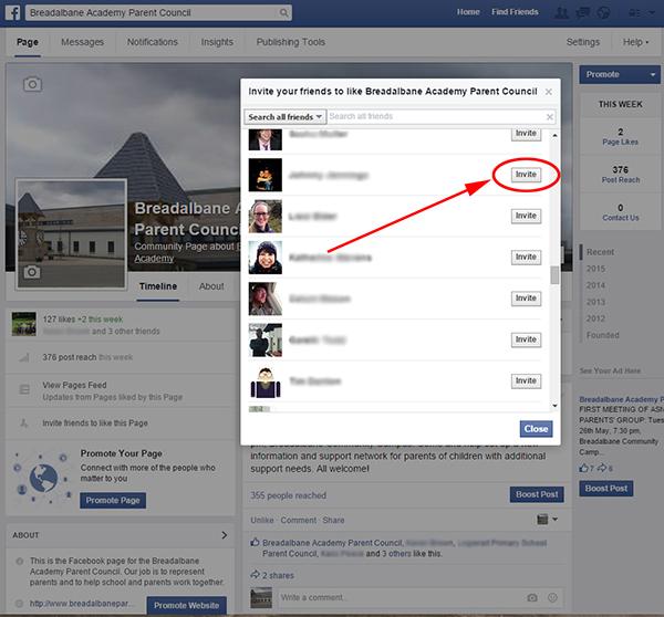 Facebook page invite 3a